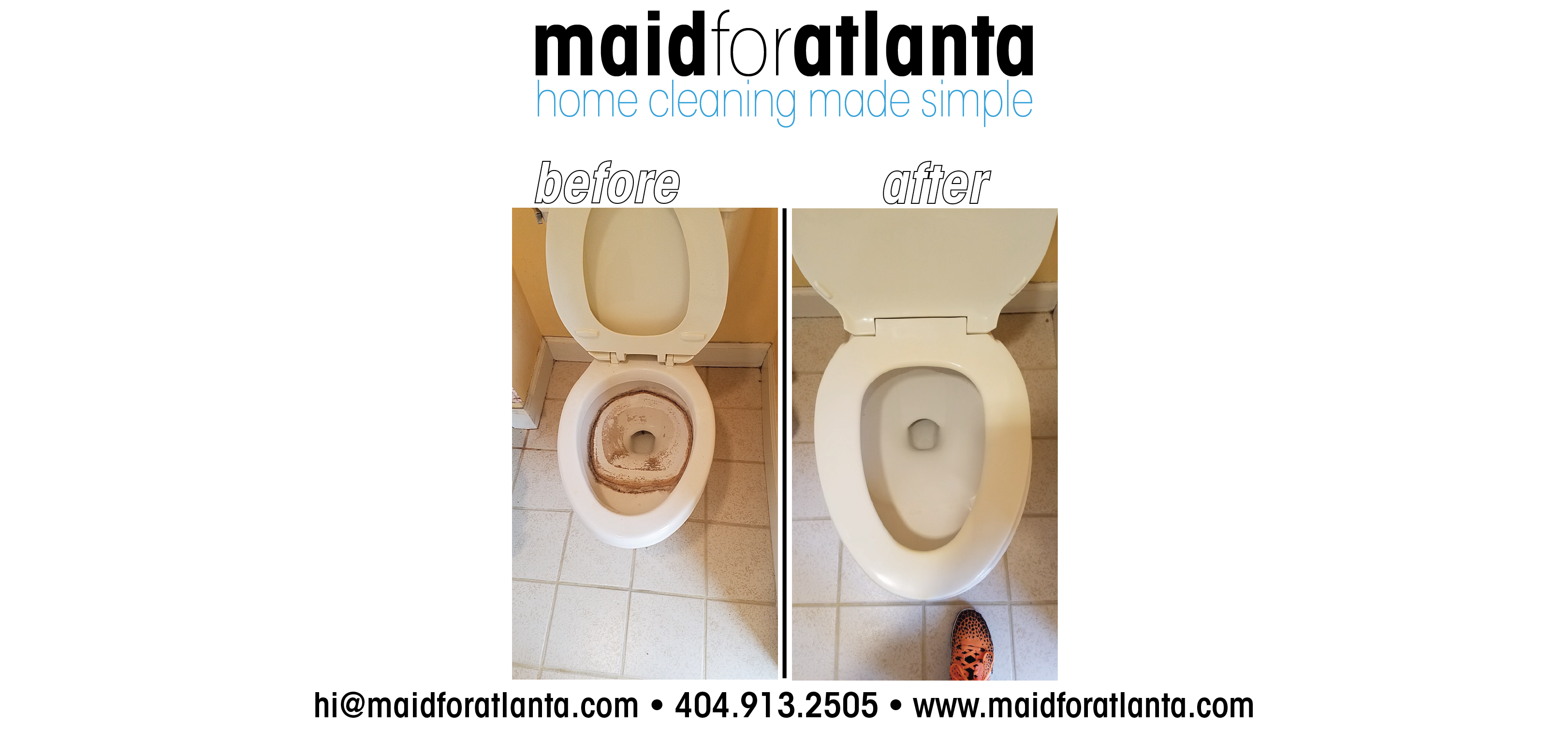Maid For Atlanta - Before-After Toilet-01