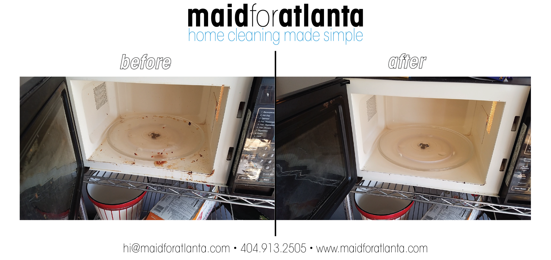 Maid For Atlanta - Before-After microwave-01 (Large)