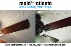 Maid For Atlanta - Before-After Dirty Fan