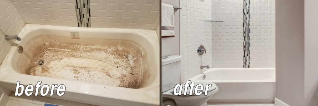 Maid For Atlanta - Before-After bathroom